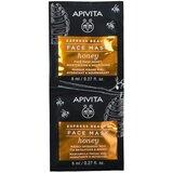 Apivita Máscara hidratante & nutritiva com mel 2x8ml