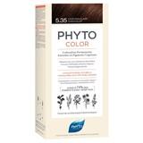Phyto Phytocolor coloração permanente 5.35 castanho claro chocolate