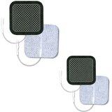 eléctrodos ultrastim wire 5x5cm (pack 4unidades)