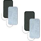 eléctrodos ultrastim wire 5x10cm (pack 4 unidades)