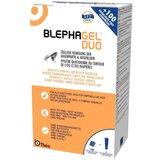 blephagel duo gel limpeza diária pestanas e pálpebras (gel 30g + 100compressas)