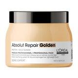 serie expert absolut repair máscara dourada cabelos danificados 500ml