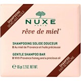 nuxe rêve de miel shampoo sólido 65g