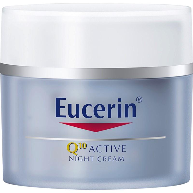 Eucerin Q10 active creme noite anti rugas - poupe até 14%