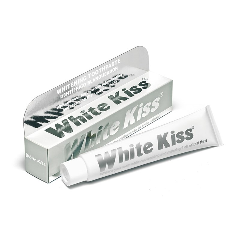 White Kiss Toothpaste for at h...