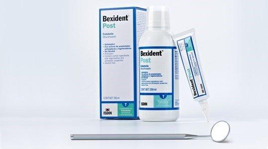 bexident post gengivas inflamadas