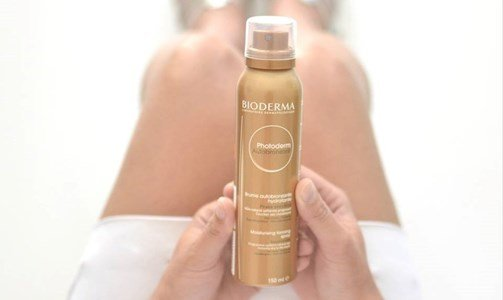 bioderma photoderm autobronzeador spray