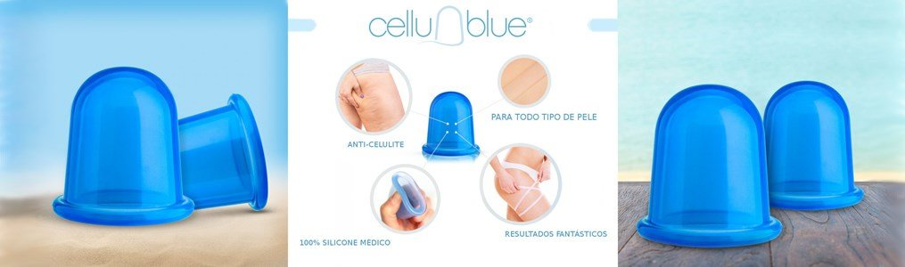 cellublue copo succao massagem vacuo anti celulite