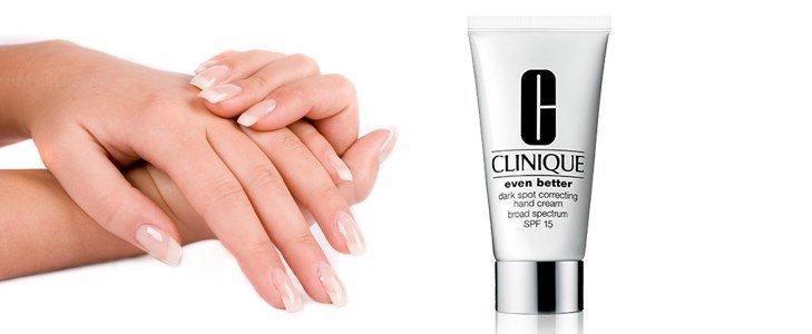 clinique even better dark spot correcting hand cream