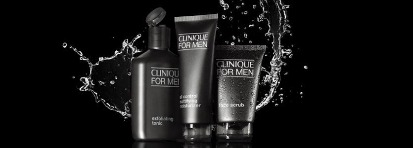 clinique men skin