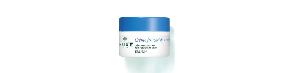 creme fraiche beaute hidratante pele normal nuxe