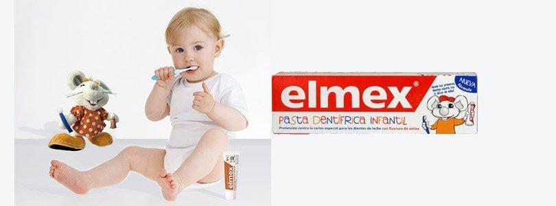 elmex pasta dentifrica infantil