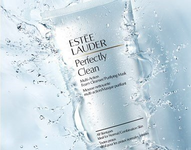 estee lauder perfectly clean multi action mousse