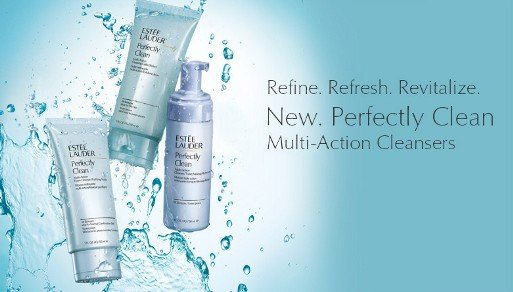 estee lauder perfectly clean triple action