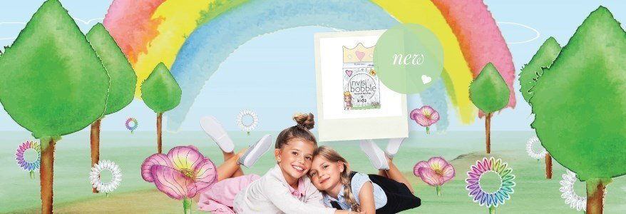 invisibobble traceless hair ring kids collection en