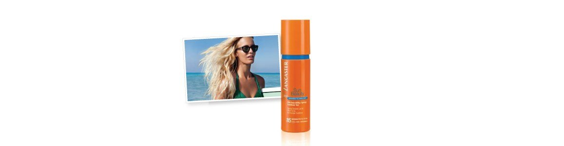 lancaster sun beauty oil free milky spray spf15 sublime tan en