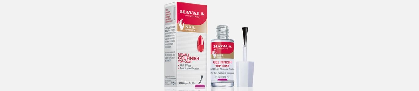 mavala gel finish top coat efeito unhas gel