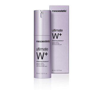 mesoestetic ultimate w whitening essence serum