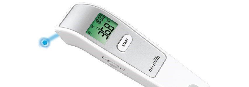 microlife termometro frontal medicao distancia nc150
