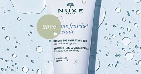 nuxe masque hydratant creme fraiche beaute