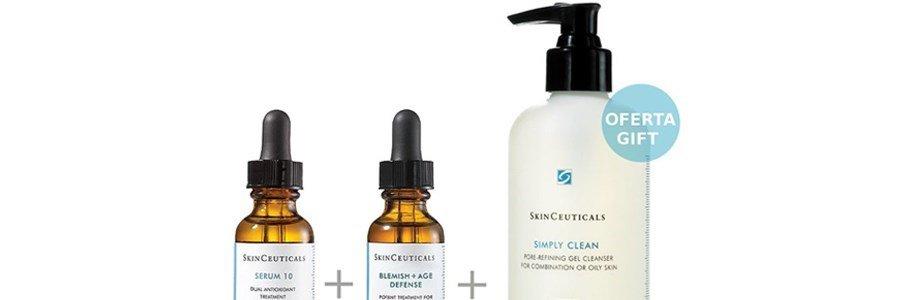 skinceuticals coffret pele imperfeicoes