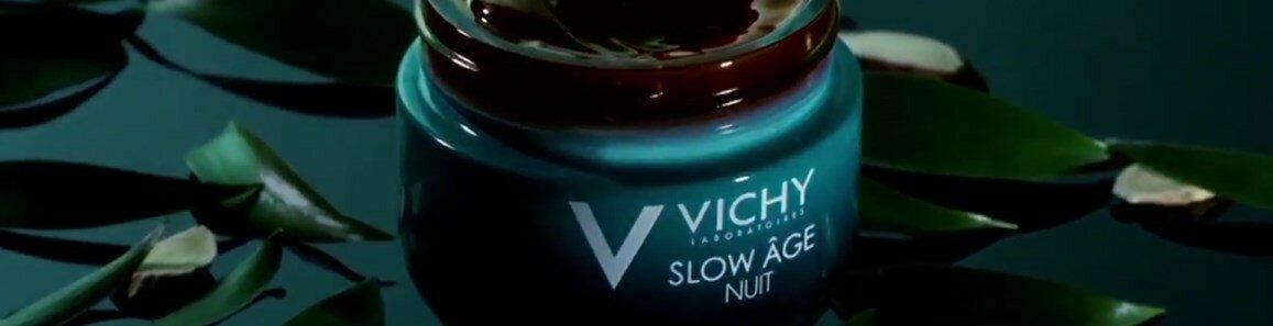 vichy slow age noite gel creme reoxigenante regenerador