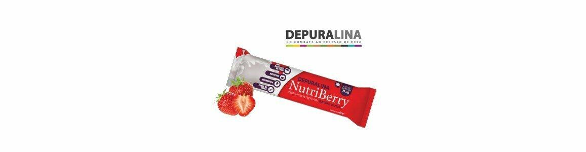 depuralina nutriberry barrita substituicao refeicao controlo peso