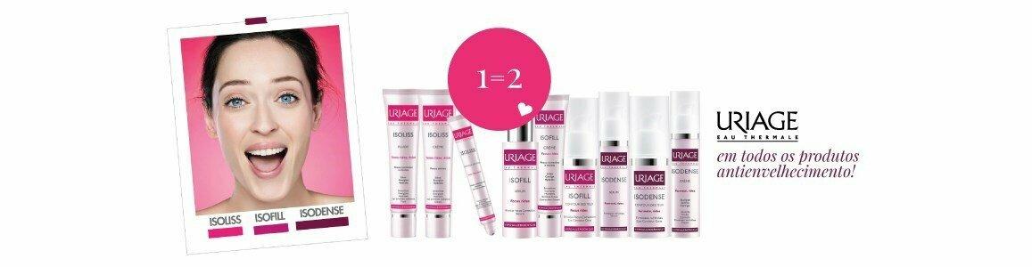 uriage 1 2 em todos os produtos antienvelhecimento