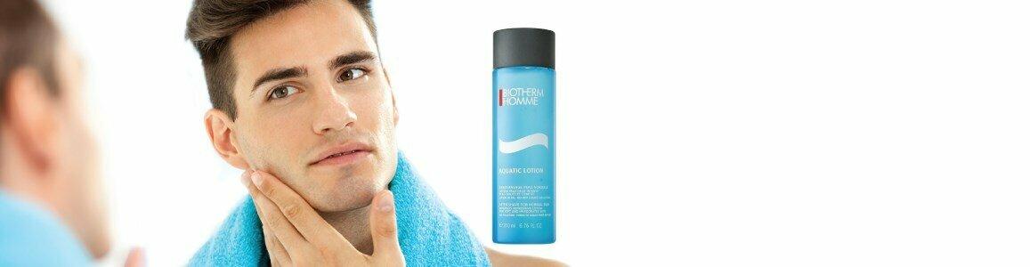 biotherm homme locao aquatica pos barbear hidrata suaviza en