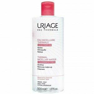 uriage agua micelar pele intolerante sem perfume