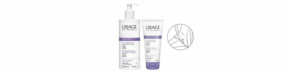 uriage gyn phy gel refrescante higiene intima en