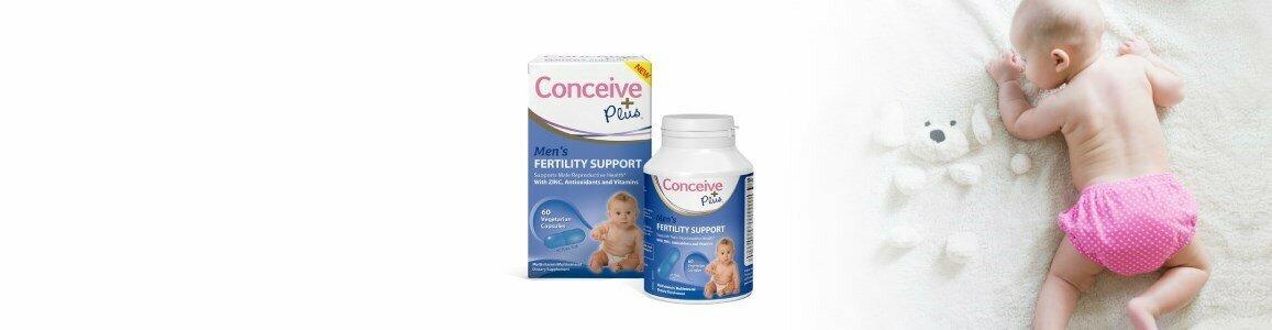 conceive plus conceive plus suplemento masculino apoio fertilidade