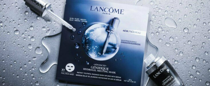 lancome advanced genifique mascara tecido fundente 1un