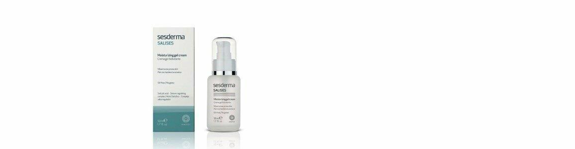 sesderma salises gel creme hidratante pele tendencia acne en