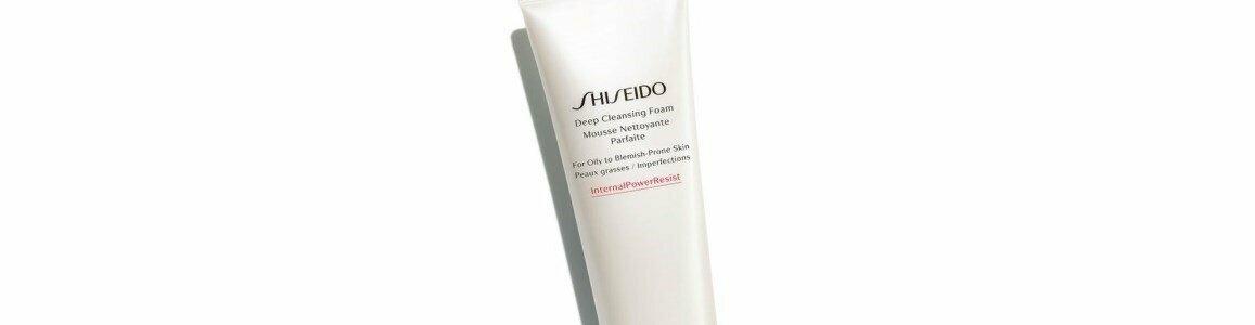 shiseido global skincare deep cleansing foam oily blemish