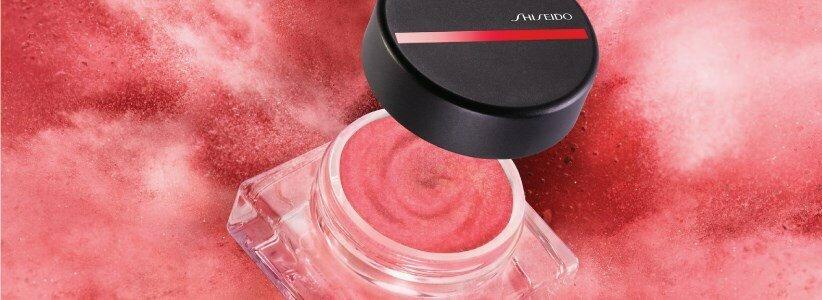 shiseido minimalist whippedpowder blush cream