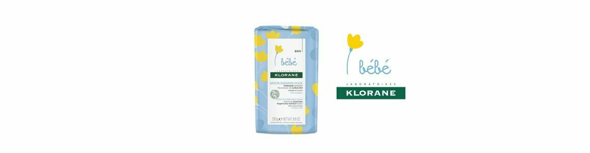 klorane baby gentle moisturizing soap