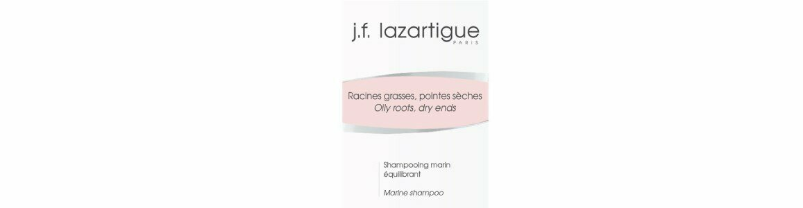 lazartigue marine shampoo oily roots dry ends