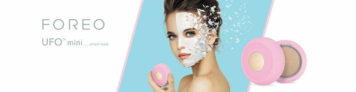 foreo ufo mini smart facial mask treatment device