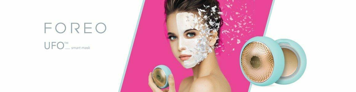 foreo ufo aparelho inteligente mascara tratamento facial