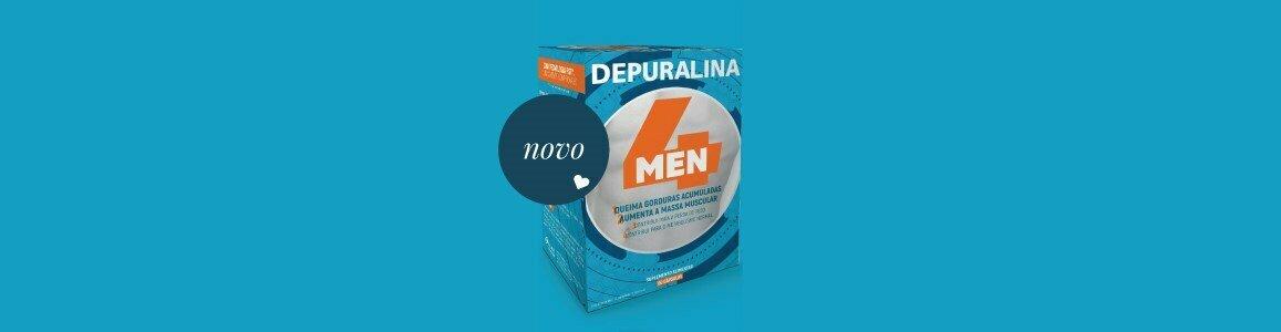 depuralina 4 men fat burning increased muscle mass