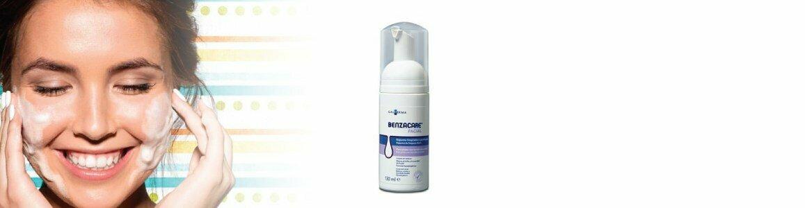 benzacare benzacare espuma limpeza diaria
