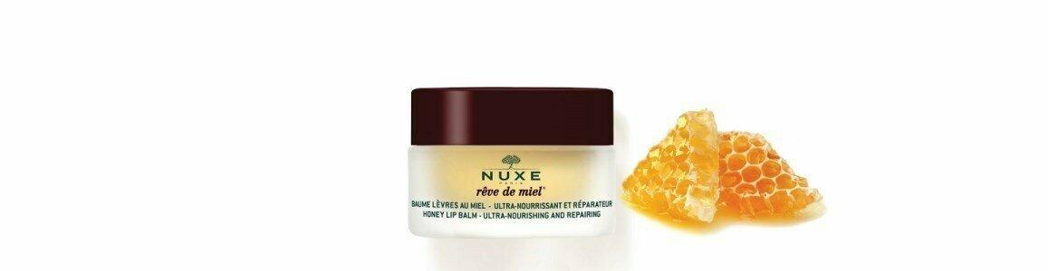 nuxe reve miel ultra nourishing repairing lip balm en