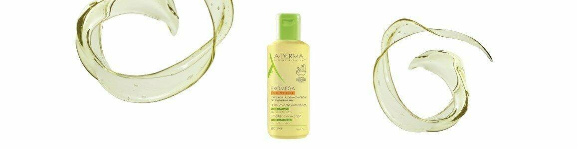 a derma exomega oleo cuidado banho peles atopicas en