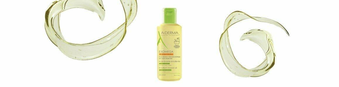 a derma exomega oleo cuidado banho peles atopicas