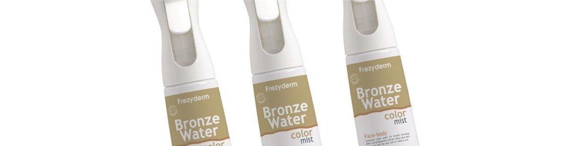 auto bronzeador bronze water color mist