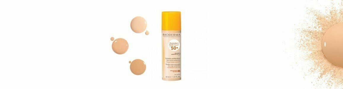 bioderma photoderm nude touch spf 50 natural