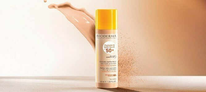 bioderma photoderm nude touch spf 50 natural tint