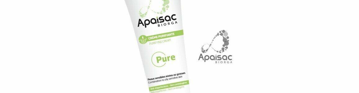 biorga apaisac purifying anti blemish cream sensitive