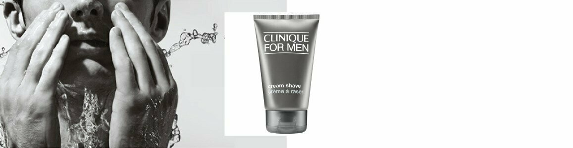 clinique men creme barbear peles secas 125ml en
